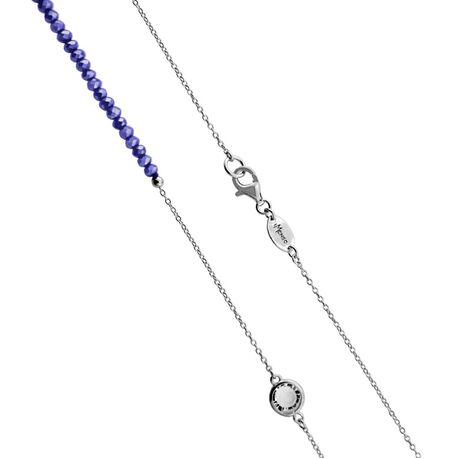 MY iMenso zilveren collier paars 27-1218