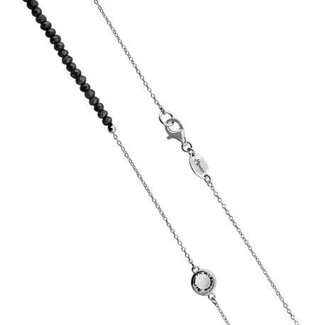 MY iMenso zilveren collier zwart 27-1213