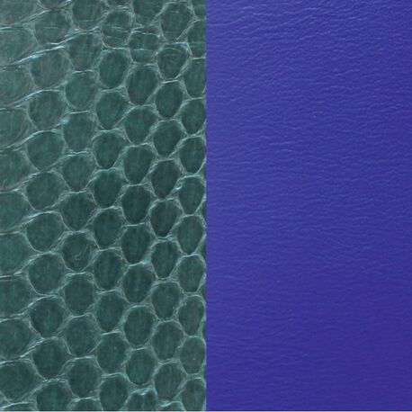 Les Georgettes 40 mm inlay slangenpatroon en blauw
