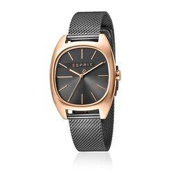 Esprit Infinity horloge rosé donkergrijs