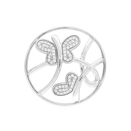 MY iMenso rosé zilveren cover vlinders 33-1414