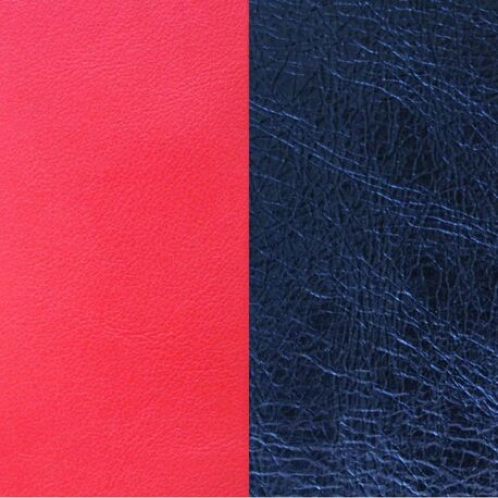 Les Georgettes 40 mm inlay koraal en metallic blauw