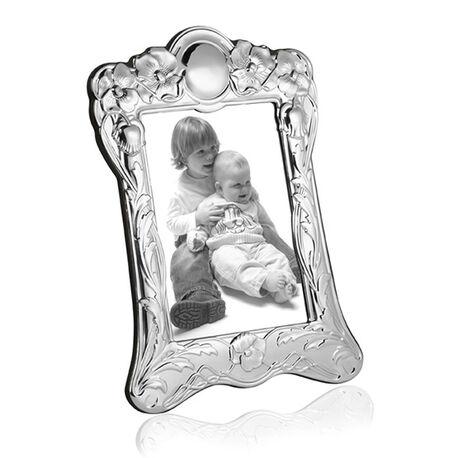Zilveren fotolijst 18x13 van Carrs art nouveau