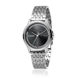 Esprit horloge Joy zwarte wijzerplaat zirkonia