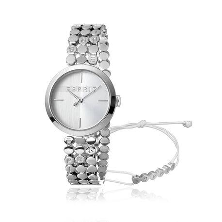 Esprit stalen horloge Bliss met armband