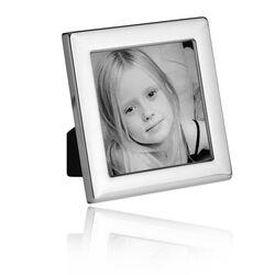 Vierkante zilveren fotolijst 9 x 9 cm Carrs Ps2