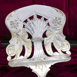 Zilveren aspergeschep antiek Van Kempen
