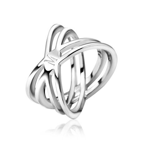 Zilveren ring ontwerp Mart Visser 19mm MVR12
