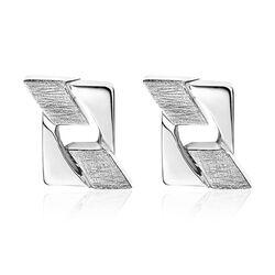 ZINZI zilveren gourmet oorbellen 10mm MVO11