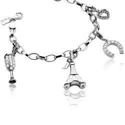 Zinzi Zilveren Armband voor bedels Ch-A17