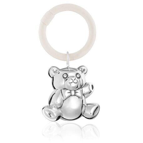 Zilveren rammelaar kleine beer