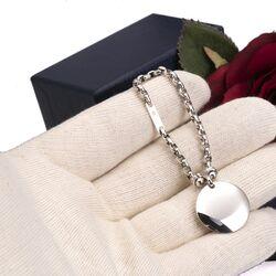 zilveren sleutelhanger
