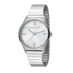 Esprit stalen horloge wit met rekband