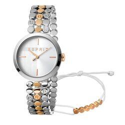 Esprit Bliss bicolor horloge rosé met armbandje