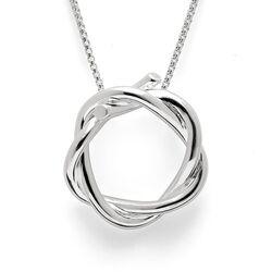 Bastian Inverun twist hanger zilver