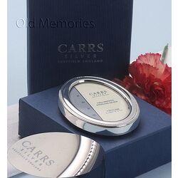 Carrs Hangende ovaal zilver fotolijstje