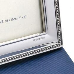 Carrs Zilveren Fotolijst Parelrand Mrbf3 15 x 10 cm