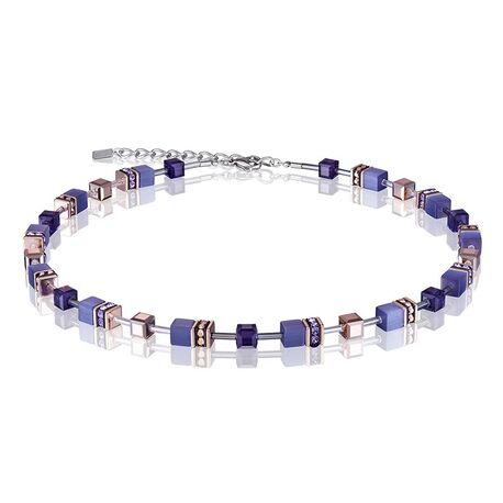 Coeur de Lion collier paars 4016-10-0800