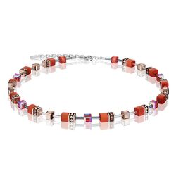 Coeur de Lion collier dark orange 4016-10-0221
