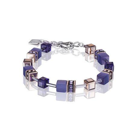 Coeur de Lion armband paars 4016-30-0800