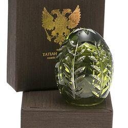 Tatiana Faberge Kristallen Mini Ei Groen