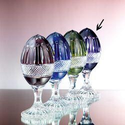 Paars kristallen sierei van Maison Tatiana Fabergé