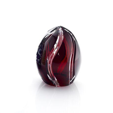 Faberge donker rood klein ei kristal Hermitage collectie