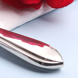 Dessertmes zilveren heft puntfilet schoonhoven