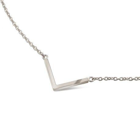 La figura collier met v-vorm hanger