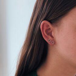 La Figura titanium oorstekers cirkel