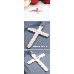 zilveren kruis met lint bladwijzer van Carrs