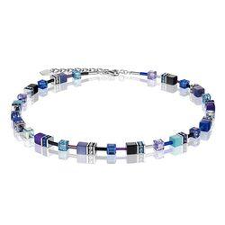 Coeur de Lion collier met blauw-lila 2838-10-0708