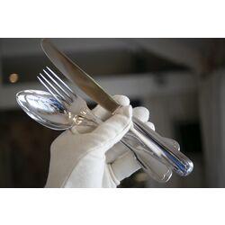 Zilver 3 Delig tafelbestek hartenfilet