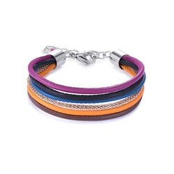Coeur de Lion armband mesh multicolor winter 2 0120301567