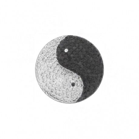 MY iMenso Zilveren 24mm Insignia Yin en Yang swarovski 240588