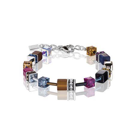 Coeur de Lion armband Multicolor winter 2 GeoCUBES 2838-30-1567