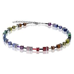 Coeur de Lion collier Rainbow Dark 2838-10-1570