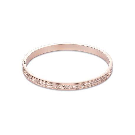 Coeur de Lion rosé slavenarmband 0214-33-0225