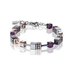 Coeur de Lion armband Amethyst 4015-30-0824