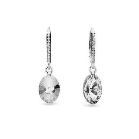 Spark oorbellen Oval Chic crystal