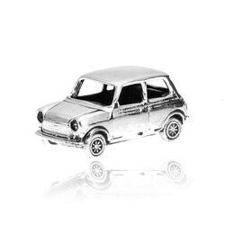 Zilveren miniatuur auto