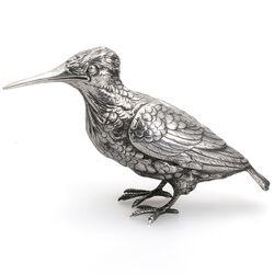 Grote zilveren ijsvogel