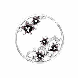 MY iMenso insignia met 3D bloemen 33-1486