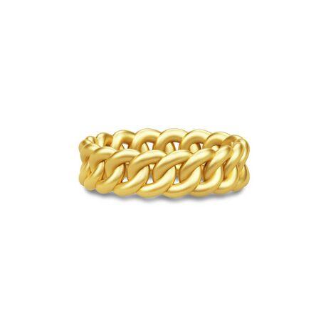 Jullie Sandlau Classic vergulde chain ring