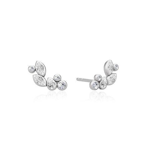 Julie Sandlau Blossom oorstekers zirkonia