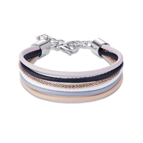 Coeur de Lion armband 0120-30-1523 multicolor natur