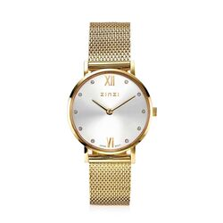Zinzi Lady Crystal watch verguld ZIW633M
