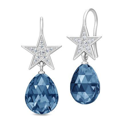 Julie Sandlau Stella oorstekers ster blauw