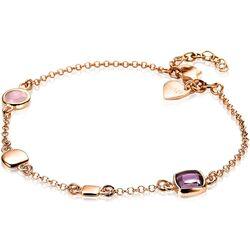 Zinzi rosé armband roze paars ZIA1725R