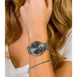 Zinzi Glam horloge donkergrijze wijzerplaat ziw524m